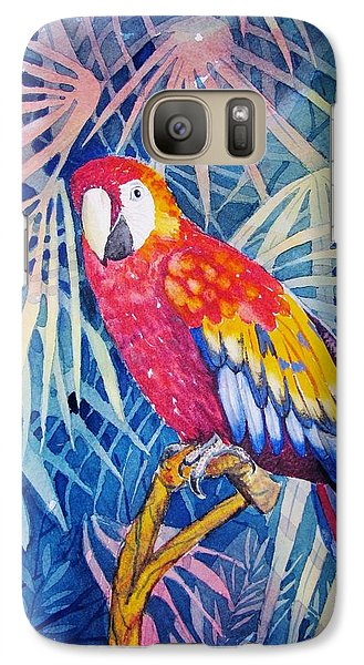 Galaxy Case featuring the painting Hello There by Martha Ayotte