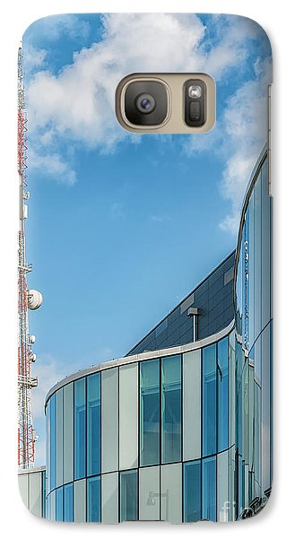 Galaxy Case featuring the photograph Helsingborg Arena Concert Hall by Antony McAulay