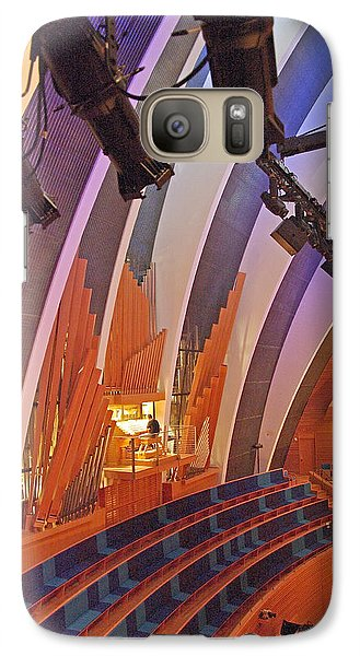 Galaxy Case featuring the photograph Helzberg Hall #3 by Jim Mathis