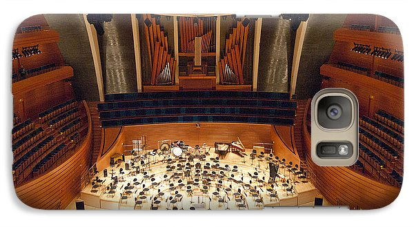Galaxy Case featuring the photograph Helzberg Hall by Jim Mathis