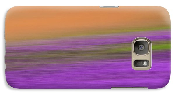 Galaxy Case featuring the photograph Henbit Abstract - D010049 by Daniel Dempster