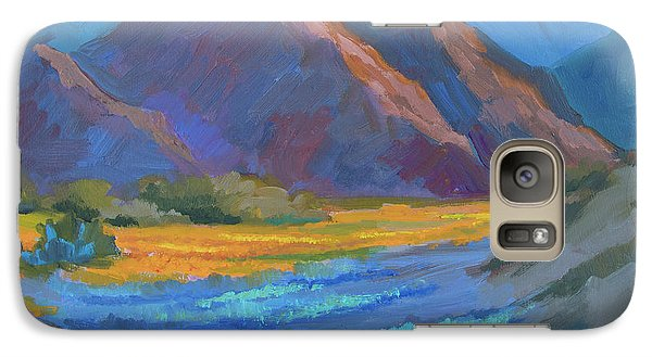 Galaxy Case featuring the painting Henderson Canyon Borrego Springs by Diane McClary