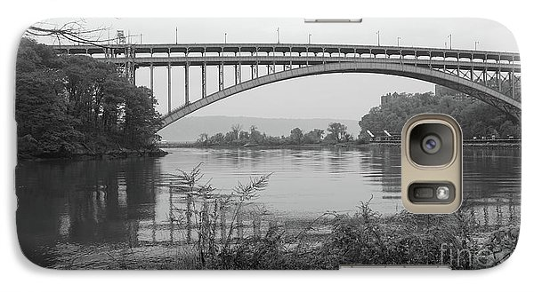 Galaxy Case featuring the photograph Henry Hudson Bridge  by Cole Thompson