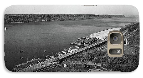 Galaxy Case featuring the photograph Henry Hudson Parkway, 1936 by Cole Thompson