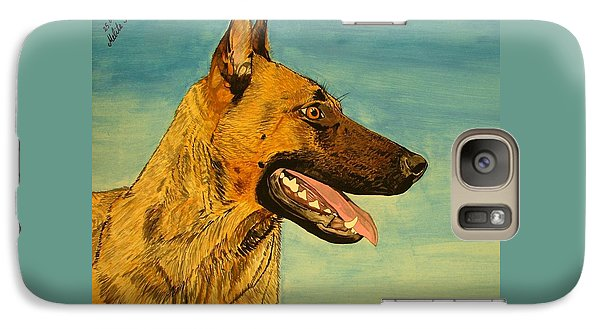 Galaxy Case featuring the painting Hera by Melita Safran