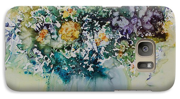 Galaxy Case featuring the painting Herbal Bouquet by Joanne Smoley