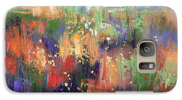 Galaxy Case featuring the painting Herbs by Anastasija Kraineva