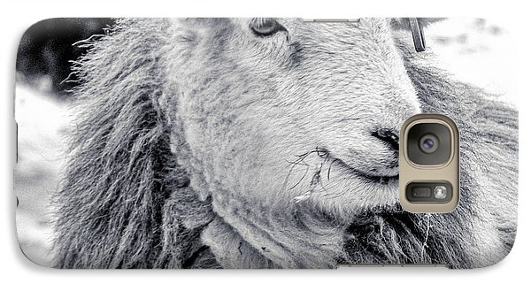 Galaxy Case featuring the photograph Herdwick Sheep by Keith Elliott
