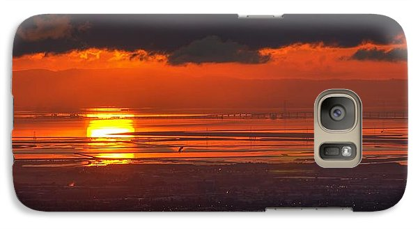 Galaxy Case featuring the photograph Here Comes The Sun by Peter Thoeny