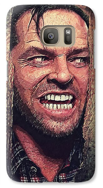 Here's Johnny - The Shining  Galaxy S7 Case