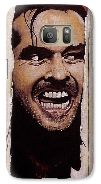Here's Johnny Galaxy S7 Case by Tom Carlton
