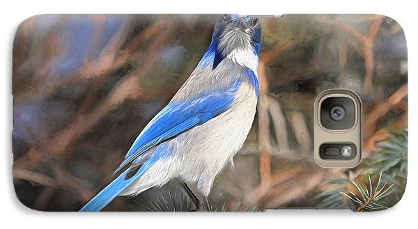 Bluejay Galaxy S7 Case - Here's Looking At You,  Kid by Donna Kennedy