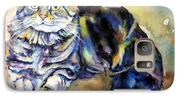 Galaxy Case featuring the painting Hermione by Christy Freeman