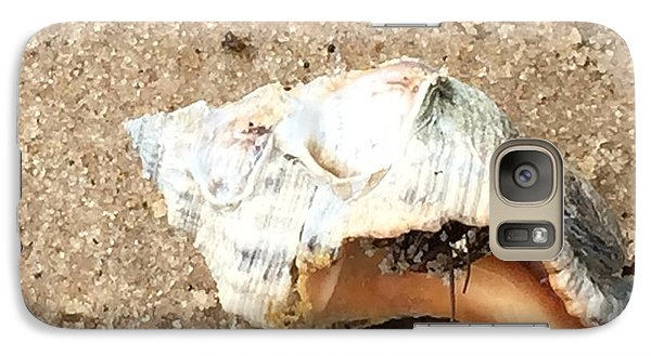 Galaxy Case featuring the photograph Hermit Crab by Janice Spivey