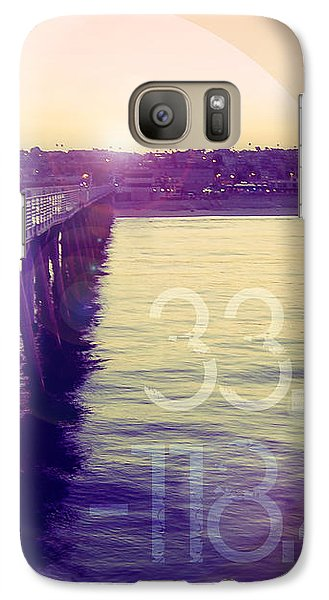 Galaxy Case featuring the photograph Hermosa Beach California by Phil Perkins