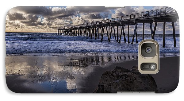 Hermosa Beach Pier Galaxy S7 Case