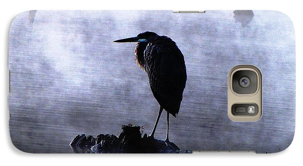 Galaxy Case featuring the photograph Heron 4 by Melissa Stoudt