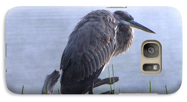 Galaxy Case featuring the photograph Heron 5 by Melissa Stoudt