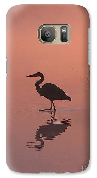 Galaxy Case featuring the photograph Heron Collection 1 by Melissa Stoudt