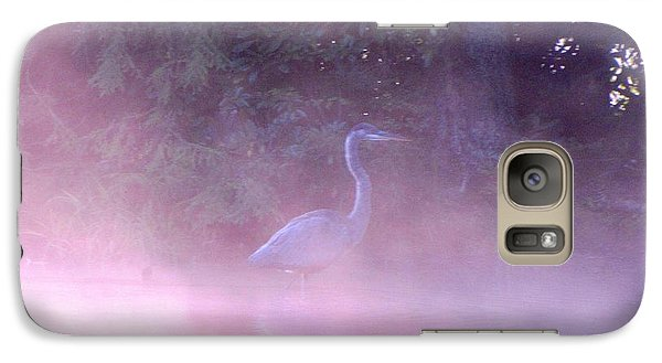 Galaxy Case featuring the photograph Heron Collection 3 by Melissa Stoudt