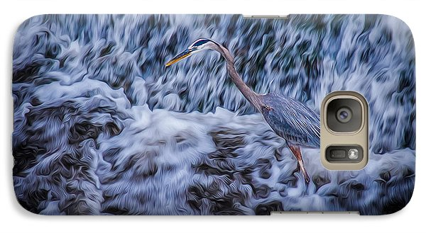 Galaxy S7 Case featuring the photograph Heron Falls by Rikk Flohr