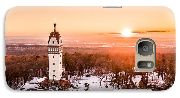 Galaxy Case featuring the photograph Heublein Tower In Simsbury Connecticut by Petr Hejl