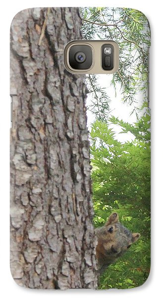 Galaxy Case featuring the photograph Hey Down Here by Marie Neder