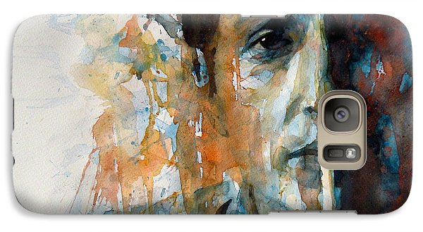 Hey Mr Tambourine Man @ Full Composition Galaxy S7 Case by Paul Lovering