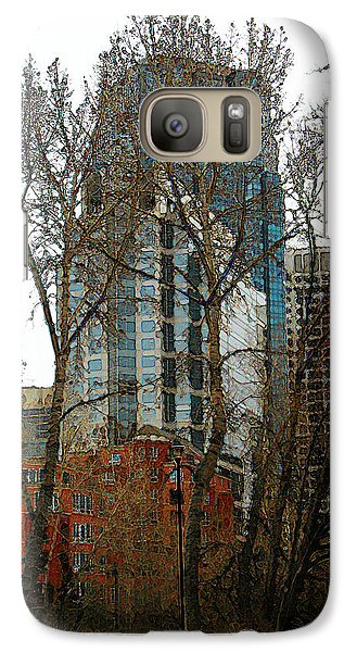 Galaxy Case featuring the digital art Hi-rise Living  by Stuart Turnbull
