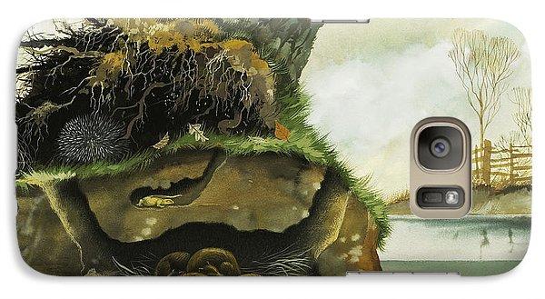 Groundhog Galaxy S7 Case - Hibernation by David Nockels