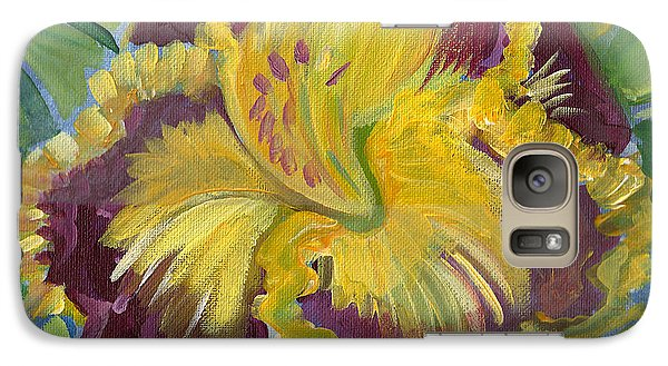 Galaxy Case featuring the painting Hibiscus 2 by John Keaton