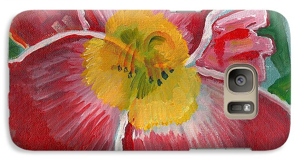 Galaxy Case featuring the painting Hibiscus 3 by John Keaton