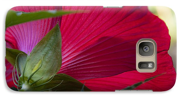 Galaxy Case featuring the photograph Hibiscus by Charles Harden