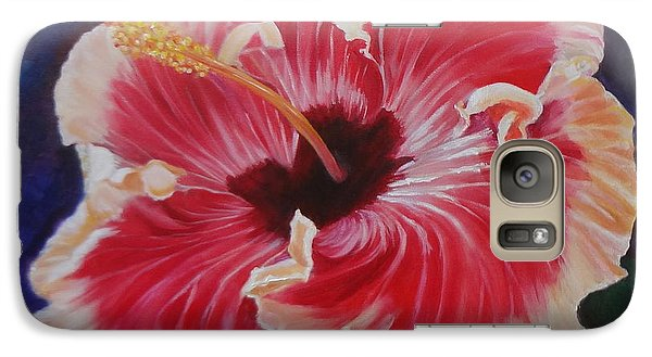 Galaxy Case featuring the painting Hibiscus by Jenny Lee