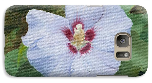 Galaxy Case featuring the painting Hibiscus by Joshua Martin