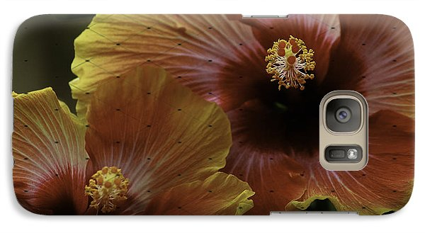 Galaxy Case featuring the photograph Hibiscus by Lori Mellen-Pagliaro