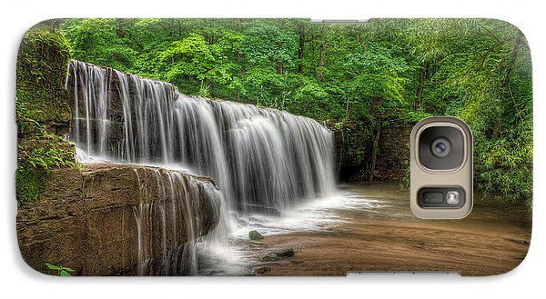 Galaxy S7 Case featuring the photograph Hidden Falls  by Rikk Flohr