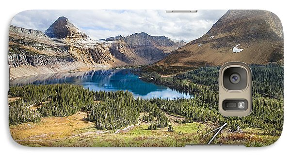 Galaxy Case featuring the photograph Hidden Lake by Jason Naudi