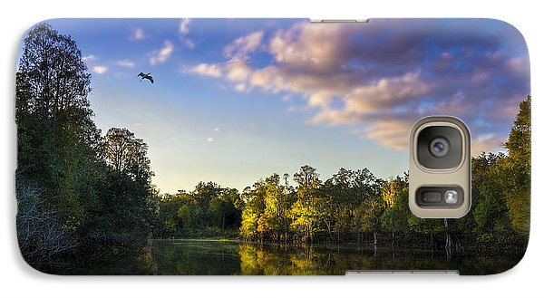 Ibis Galaxy S7 Case - Hidden Light by Marvin Spates