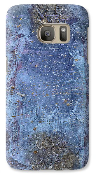 Galaxy Case featuring the painting Hidden Reality by Theresa Kennedy DuPay