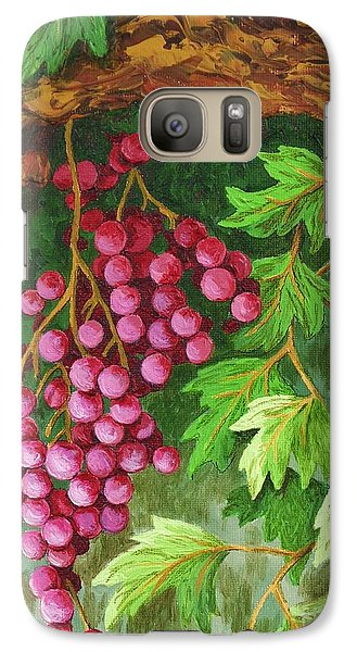 Galaxy Case featuring the painting Hidden Treasure by Katherine Young-Beck