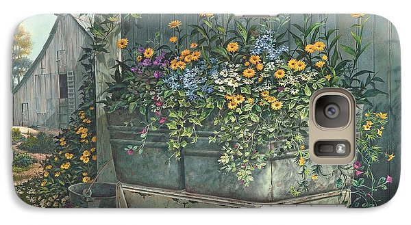 Galaxy Case featuring the painting Hidden Treasures by Michael Humphries