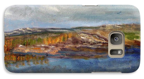 Galaxy Case featuring the painting Tranquility by Michael Helfen