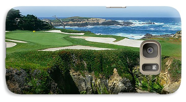 High Angle View Of A Golf Course Galaxy Case by Panoramic Images