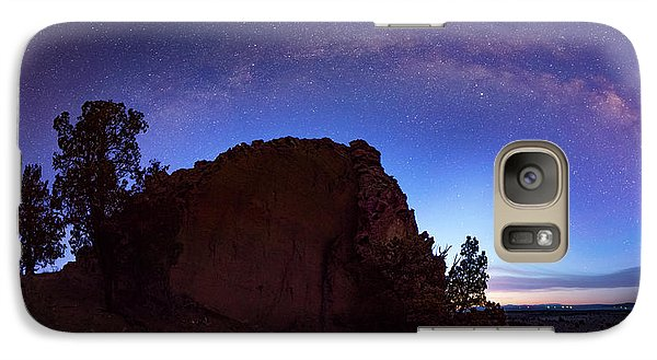 Galaxy Case featuring the photograph High Desert Dawn by Leland D Howard