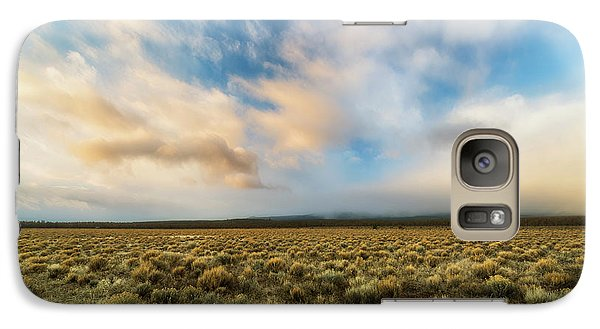 Galaxy Case featuring the photograph High Desert Morning by Ryan Manuel