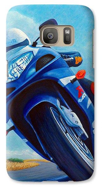 High Desert Pass - Suzuki Gsxr1000 Galaxy Case by Brian  Commerford