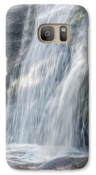 Galaxy Case featuring the photograph High Falls Three by Steven Richardson