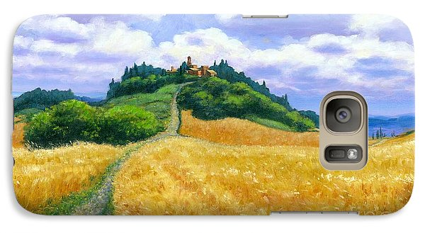 Galaxy Case featuring the painting High Noon Tuscany  by Michael Swanson