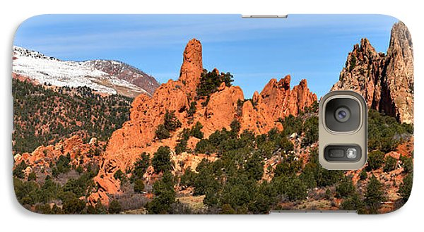 Galaxy Case featuring the photograph High Point View by Adam Jewell